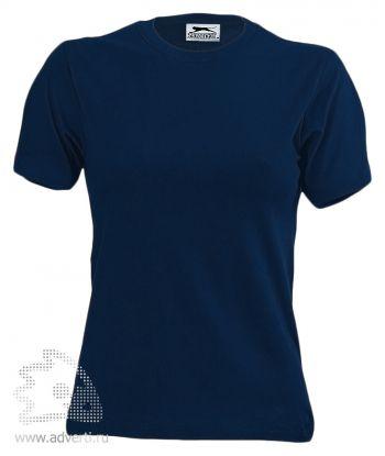 Футболка «150», женская, темно-синяя