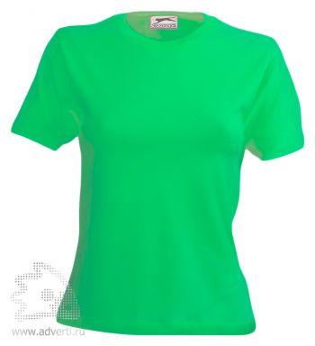 Футболка «150», женская, светло-зеленая