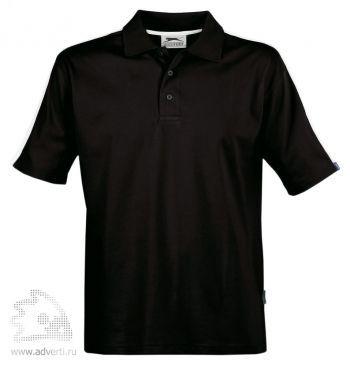 Рубашка поло «Winner», мужская, черная