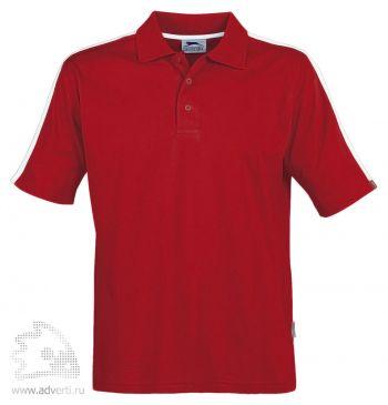 Рубашка поло «Winner», мужская, красная