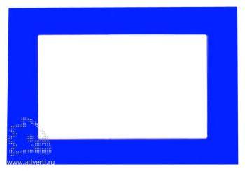 Фоторамка магнитная для фото 9х13 см, синяя