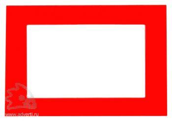 Фоторамка магнитная для фото 9х13 см, красная