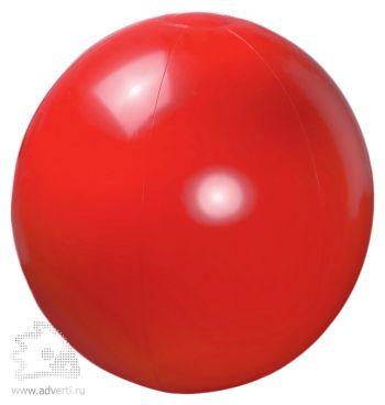 Мяч пляжный надувной, красный