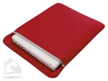Чехол для ноутбука, красный