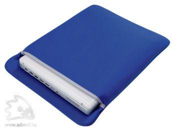 Чехол для ноутбука, синий
