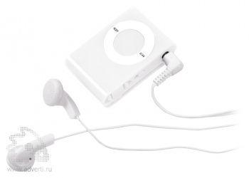Радио «Compact» с наушниками, белое