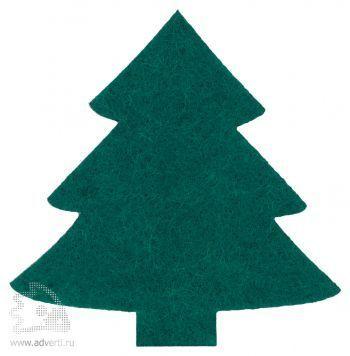 Магнит «Елка», зеленый