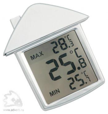 Термометр на присоске «Дом», общий вид