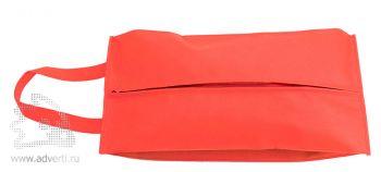 Футляр для обуви на молнии «Happy Travel», красный