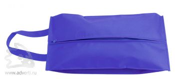 Футляр для обуви на молнии «Happy Travel», синий