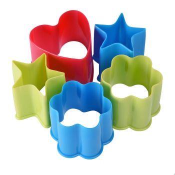 Набор формочек для печенья «Kenzzo» (5 шт.) без коробки