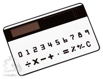 Калькулятор «Visa» в форме кредитной карты