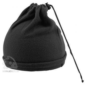 Шапка-шарф с утяжкой «Articos», черная
