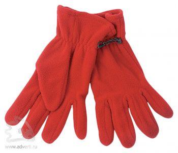 Перчатки «Monti», красные