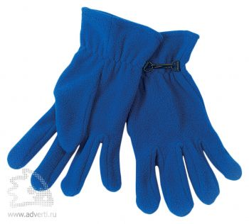 Перчатки «Monti», синие