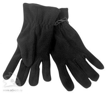 Перчатки «Monti», черные
