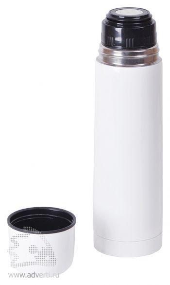 Термос «WHITE», 750 мл, белый