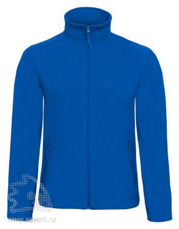 Куртка флисовая «ID.501», мужская, синяя