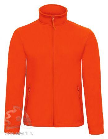 Куртка флисовая «ID.501», мужская, оранжевая
