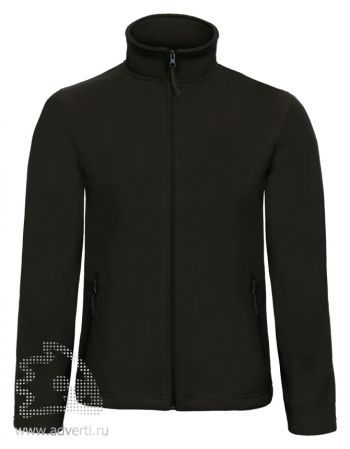 Куртка флисовая «ID.501», мужская, черная