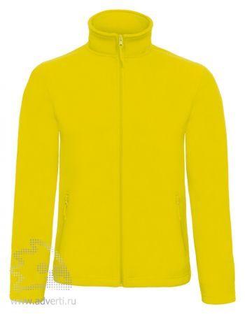 Куртка флисовая «ID.501», мужская, желтый