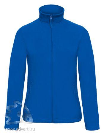 Куртка флисовая «ID.501/women», женская, синяя