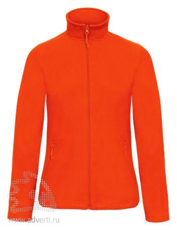 Куртка флисовая «ID.501/women», женская, оранжевая