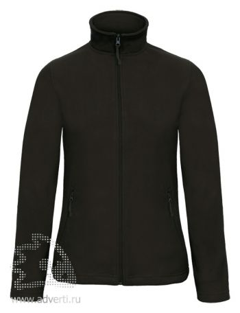 Куртка флисовая «ID.501/women», женская, черная