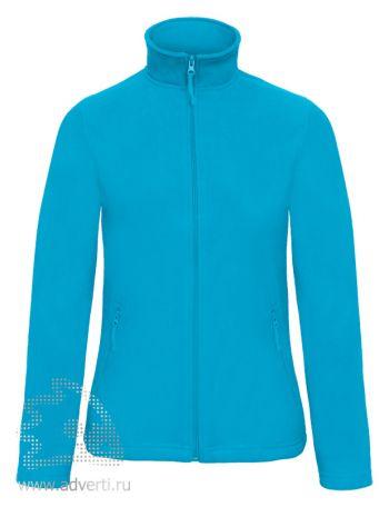 Куртка флисовая «ID.501/women», женская, бирюзовая