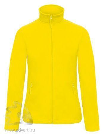 Куртка флисовая «ID.501/women», женская, желтая