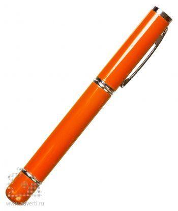 Флешка с ручкой, оранжевая