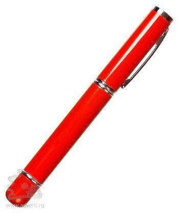 Флешка с ручкой, красная