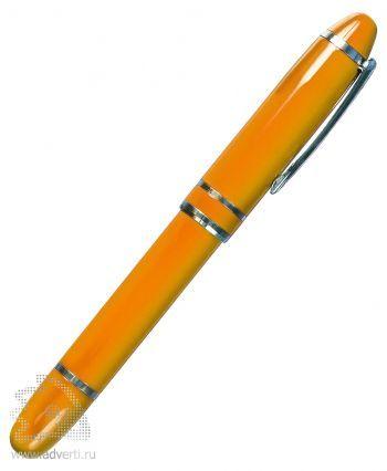 Флешка-ручка, оранжевая