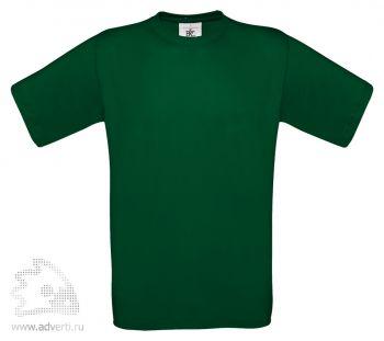 Футболка «Exact 150», мужская, темно-зеленая