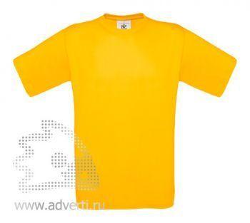Футболка «Exact 190», мужская, желтая