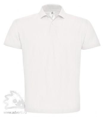 Рубашка поло «ID.001», мужская, белая