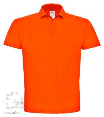 Рубашка поло «ID.001», мужская, оранжевая