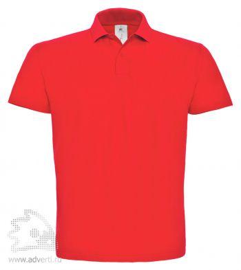 Рубашка поло «ID.001», мужская, красная