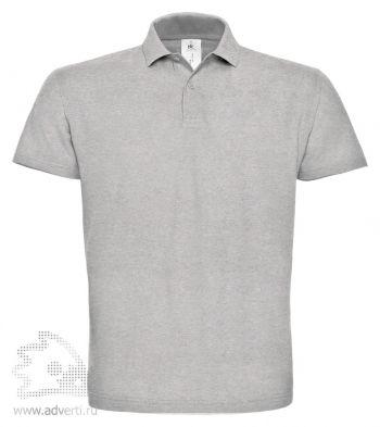 Рубашка поло «ID.001», мужская, серая