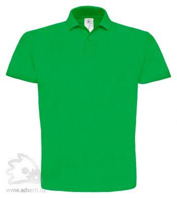Рубашка поло «ID.001», мужская, зеленая