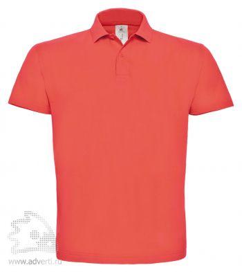 Рубашка поло «ID.001», мужская, светло-розовая
