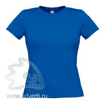 Футболка «Women-Only», женская, синяя