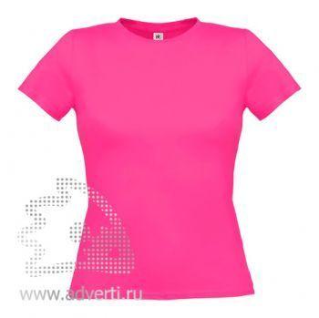 Футболка «Women-Only», женская, розовая