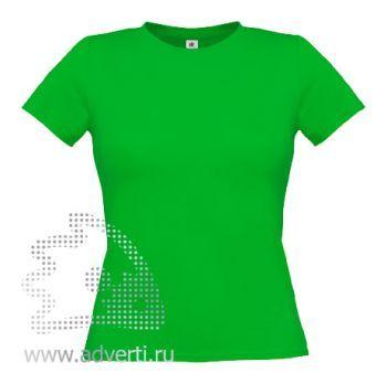 Футболка «Women-Only», женская, зеленая
