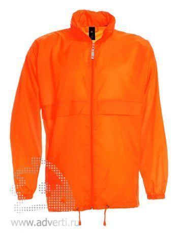 Ветровка «Sirocco», мужская, оранжевая