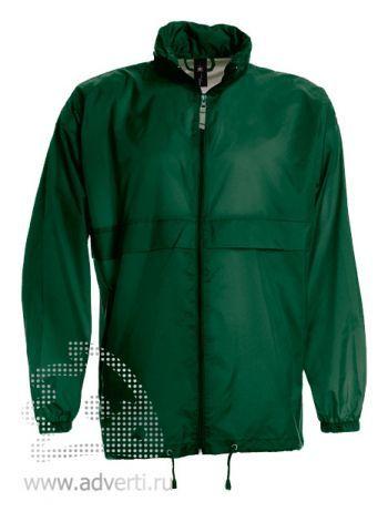 Ветровка «Sirocco», мужская, темно-зеленая