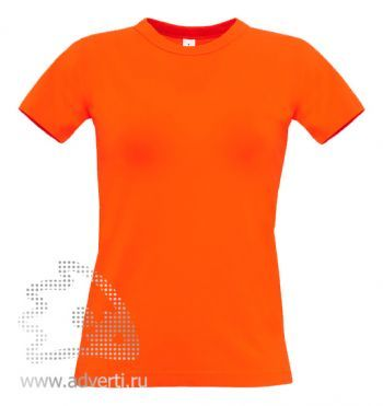 Футболка «Exact 190/women», женская, оранжевая