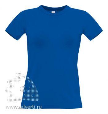 Футболка «Exact 190/women», женская, синяя