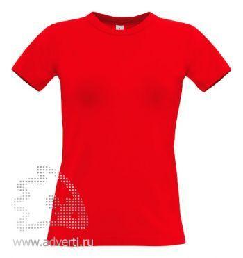 Футболка «Exact 190/women», женская, красная