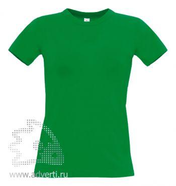 Футболка «Exact 190/women», женская, зеленая